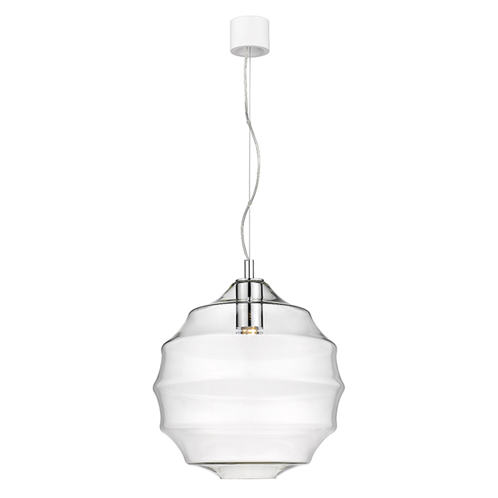 Big pendant clear glass Seyvaa 811S-10