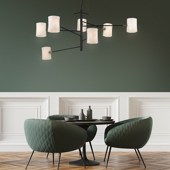 Large pendant 7 lights Seyvaa Paris 786S7