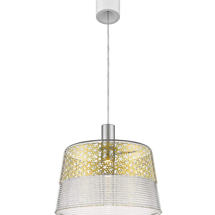 Suspension Magic gold LED dimmable Seyvaa Paris 628S-A