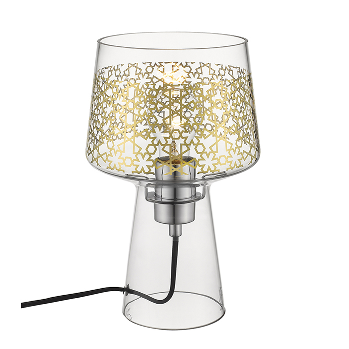 Magic table lamp gold pattern Seyvaa 627T-A